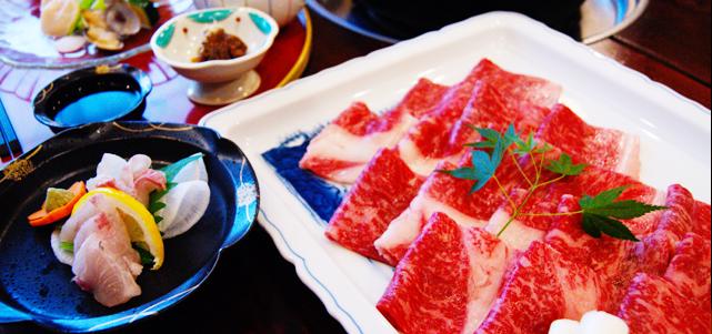 嵯峨のコース料理